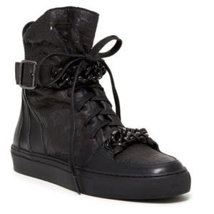 Rachel Zoe high top sneaker